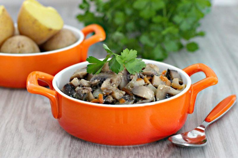 грибной соус для макарон