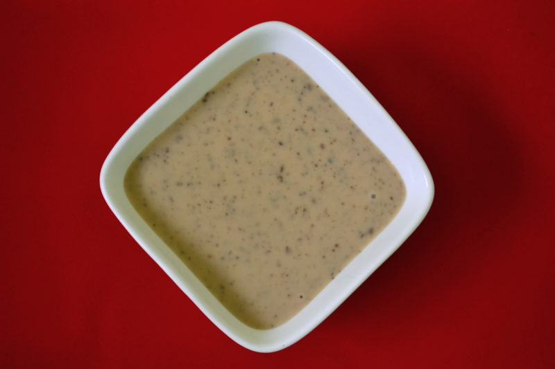как готовить ореховый соус