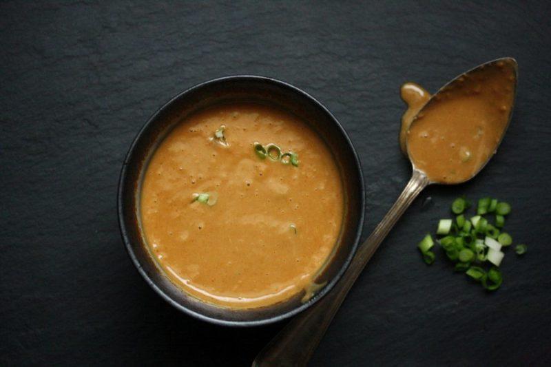как приготовить ореховый соус