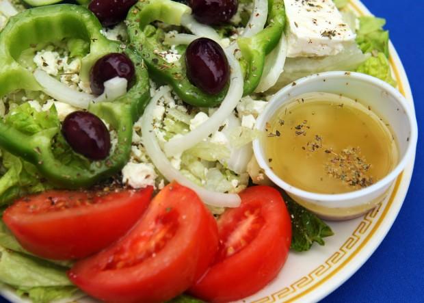 как приготовить соус для греческого салата