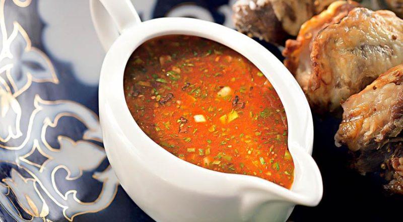 лучший соус для шашлыка