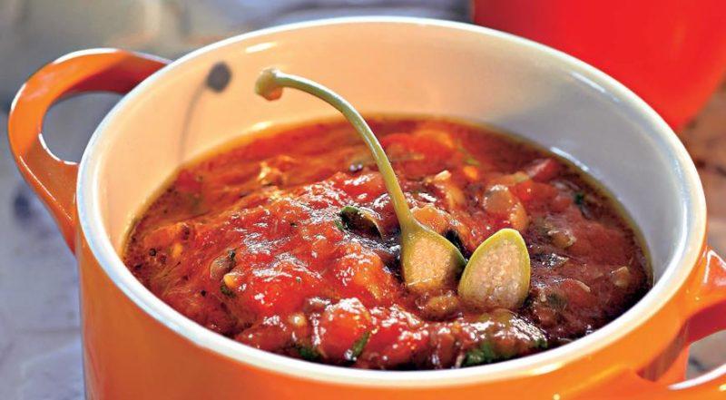 томатный соус для макарон