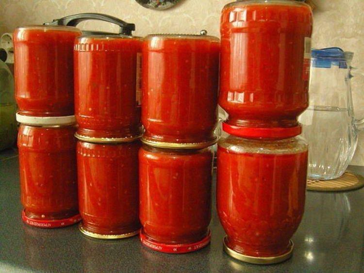 Кетчуп на зиму в домашних условиях