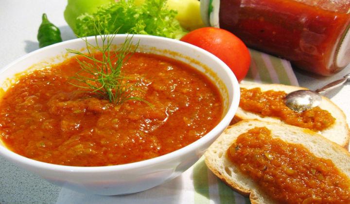 Домашний соус из кабачков