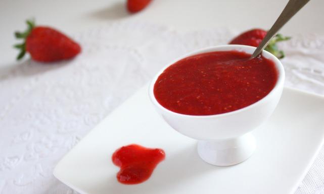 Клубничный соус рецепт
