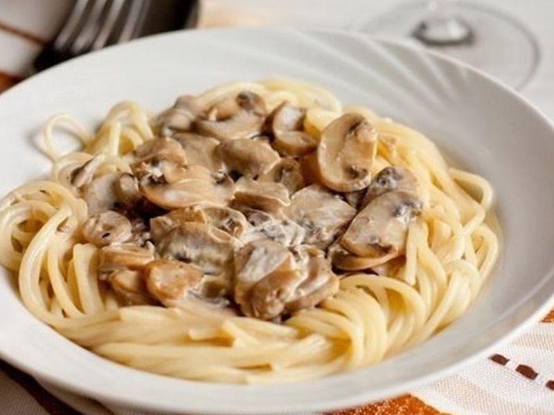 Соус с грибами для спагетти