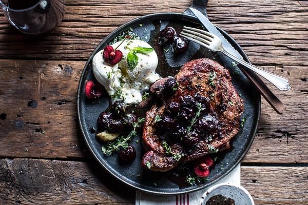 мраморную говядину на сковороде