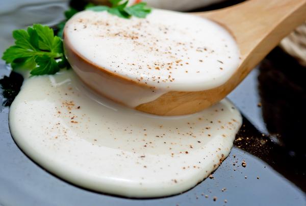 Как готовить соус бешамель в микроволновой печке