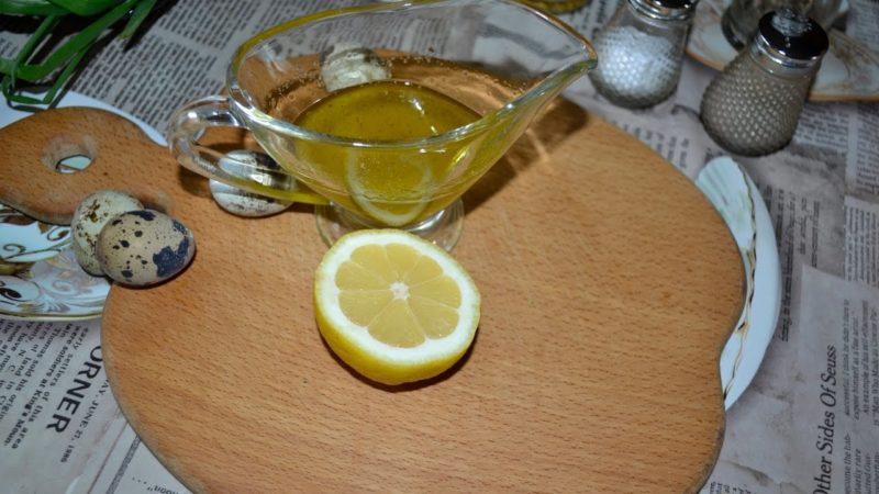 как сделать соус для греческого салата
