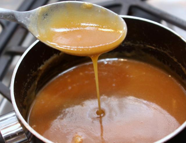 карамельный соус рецепт