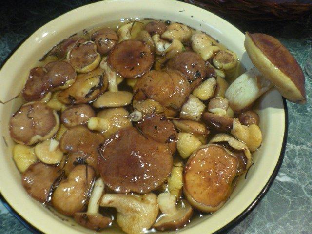маринад для грибов на гриле