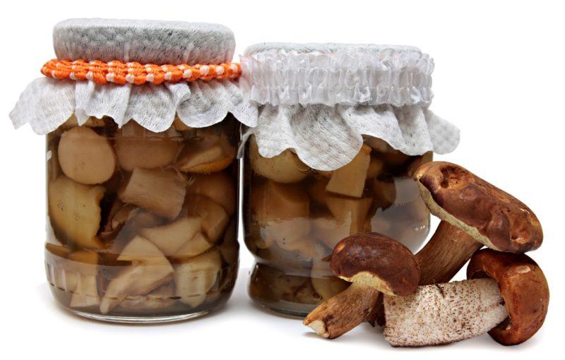 маринад для грибов на мангале