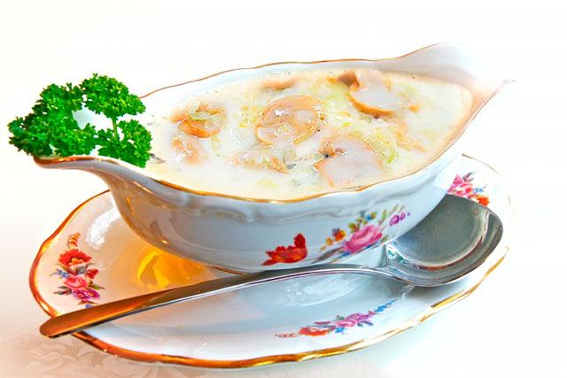 чесночный соус со сметаной