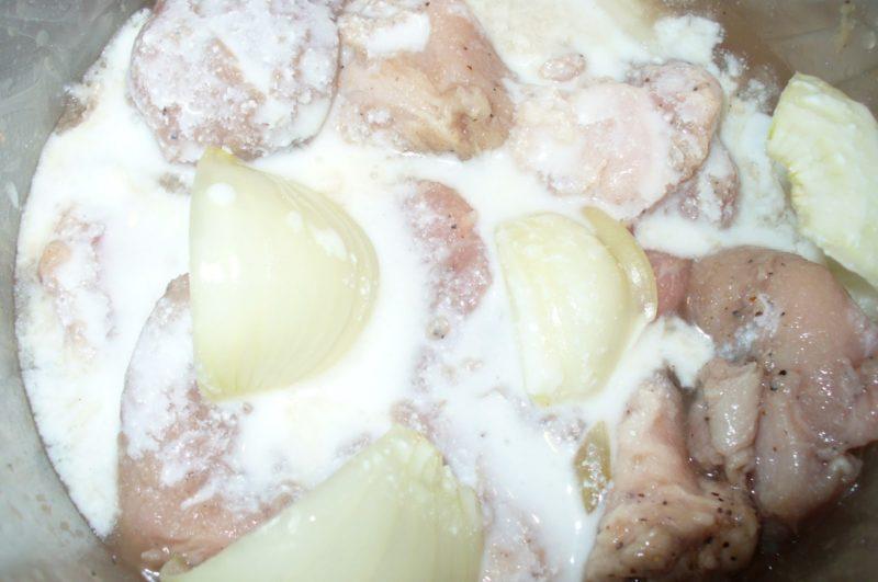 как готовить маринад для гуся