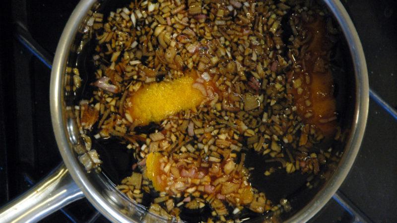 как приготовить маринад для гуся