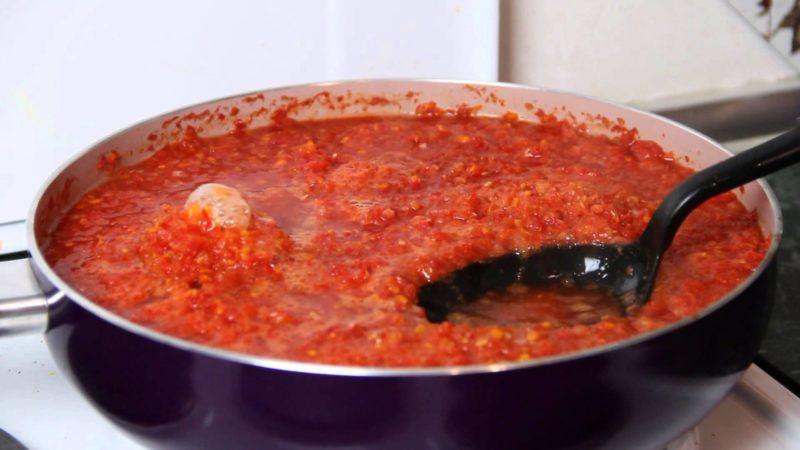 Аджика из помидоров