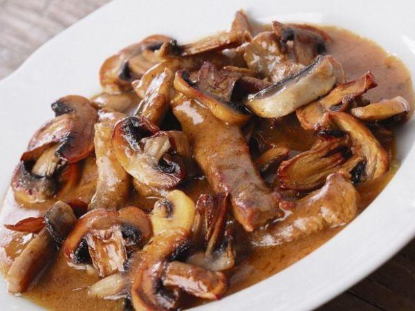 Грибной соус из сушеных грибов