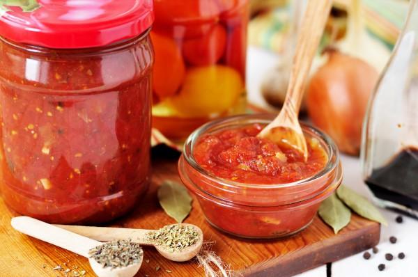 Домашний томатный соус на зиму