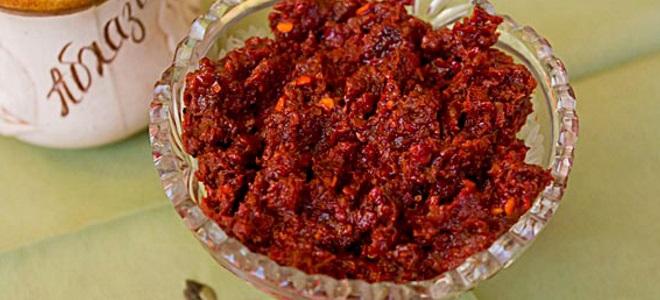 Кавказская аджика рецепт