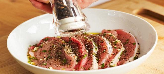 Маринад для мяса по-французски